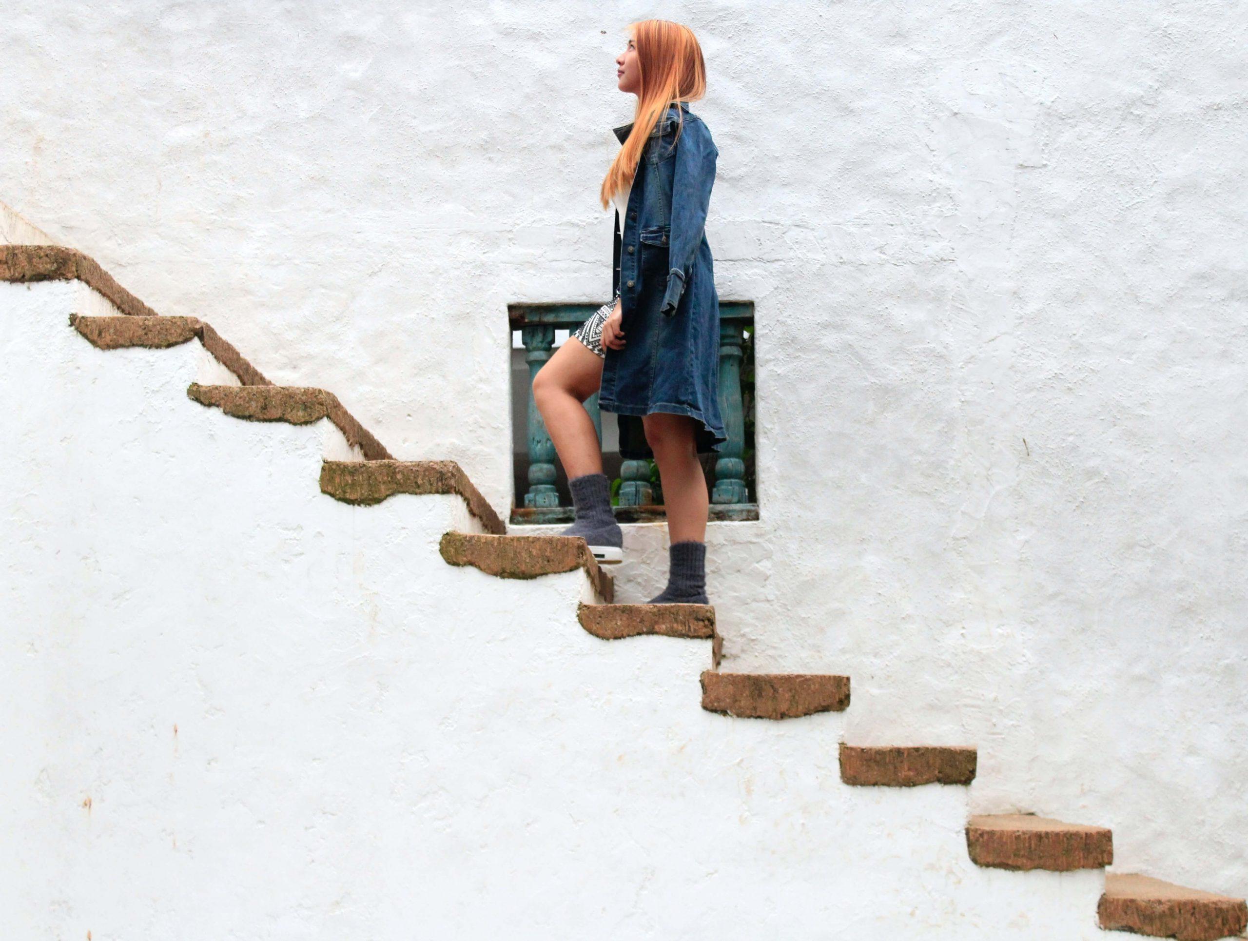 英語力の伸びは階段状